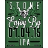 Stone Enjoy By 07.04.15 IPA - Imperial / Double IPA - Stone Brewing Co. -   United States